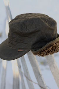 Barbour Stanhope Waxed Hunting Cap