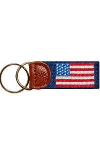 Smathers & Branson American Flag Key Fob