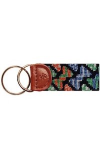 Smathers & Branson Bow Ties Key Fob