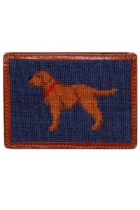 Smathers & Branson Chocolate Lab Card Wallet