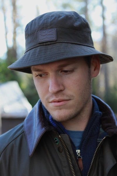 Barbour Land Rover Wax Sports Hat In Hats