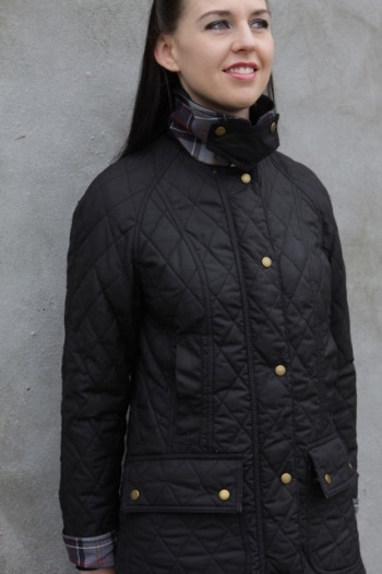Barbour Quilted Wax Beadnell Jacket