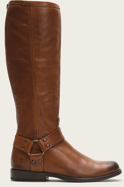 Frye Phillip Harness Tall Soft Antique Leather