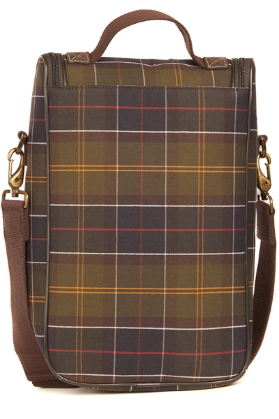 Barbour Tartan Wine Cooler Bag
