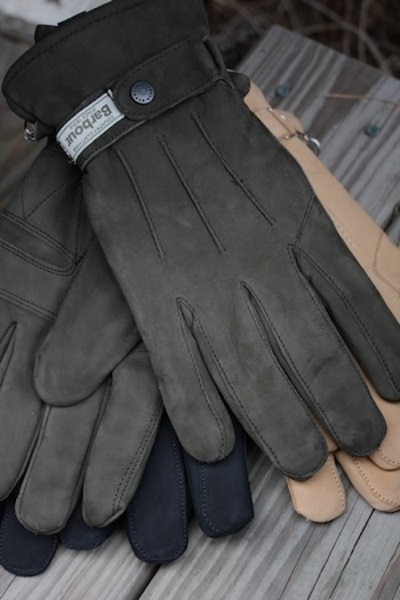 1a1ebd7919f Barbour Leather Thinsulate Gloves in Gloves