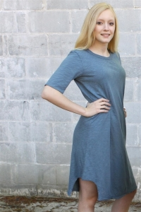 Wilt Elbow Sleeve Hem T Dress