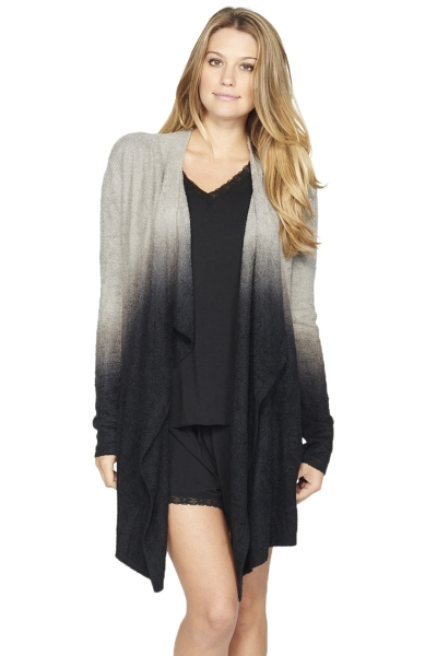 Barefoot Dreams Bamboo Chic Lite Ombre Calypso Wrap In Lounge
