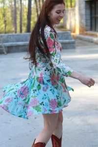 Aratta Sofia Ombre Shirt Dress