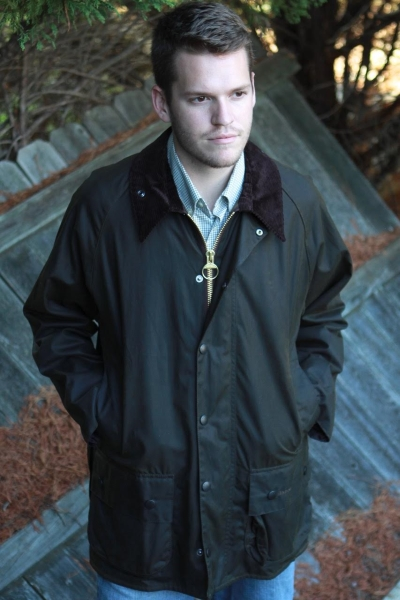 50f8150cf7c Barbour Classic Beaufort Wax Jacket in Jackets